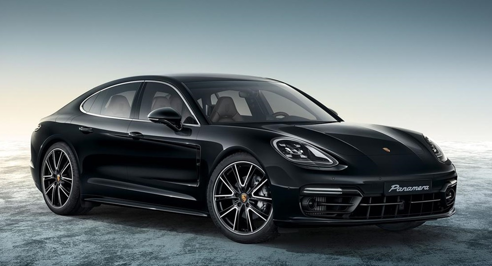 Porsche Panamera 4s Exclusive In Black