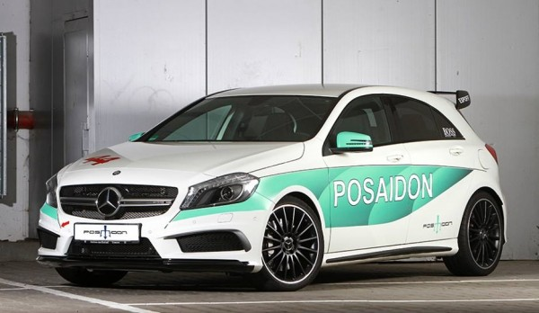 Posaidon Mercedes A45 AMG 0 600x348 at Posaidon Mercedes A45 AMG Packs 500 hp!