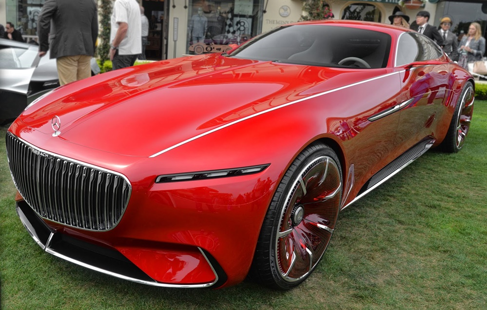 Jeep Concept 2016 >> Vision Mercedes-Maybach 6 Walk-Around