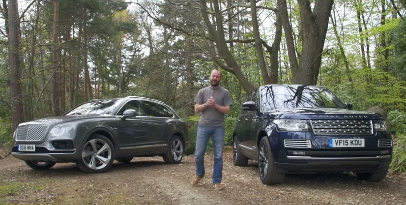 bentayga vs rangerover at Super SUV Battle: Bentley Bentayga vs Range Rover SVAutobiography