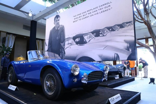 cobra southby 2 600x400 at First Ever Shelby Cobra Sold for $13.75 Million