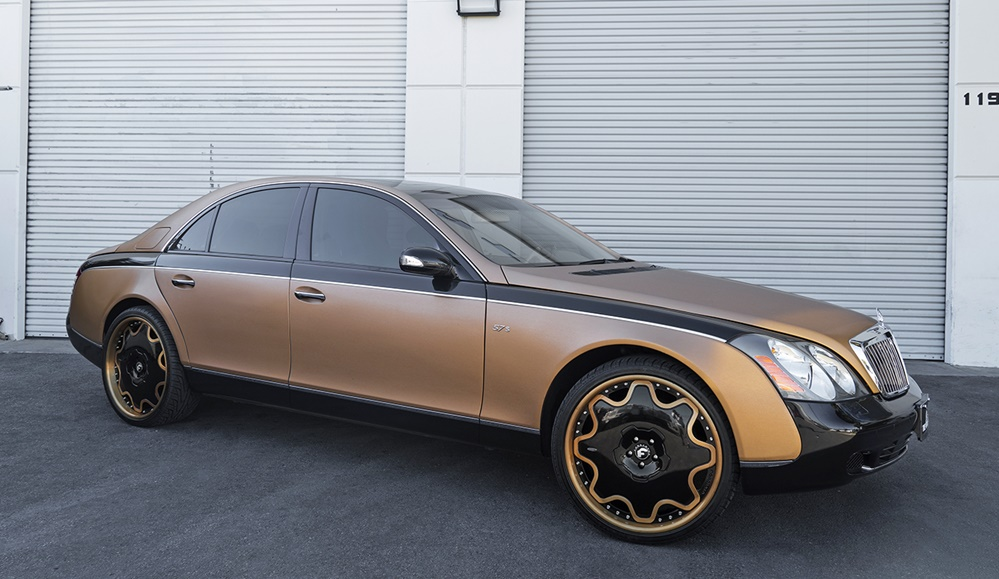 Donk'd Maybach? Why Not!