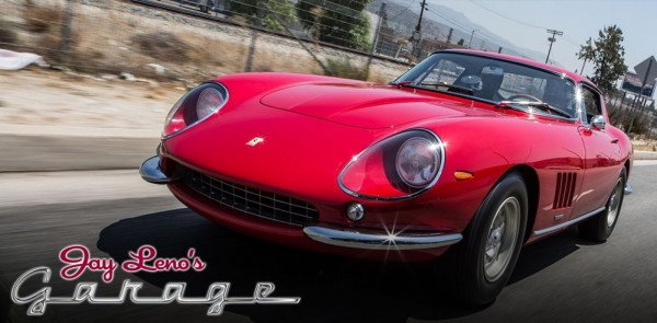 leno 275 gtb4 600x295 at 1967 Ferrari 275 GTB4 at Jay Leno's Garage