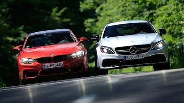 Acceleration Test: BMW M4 Competition vs Mercedes-AMG C63 ...