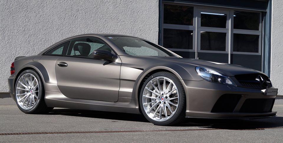 Mercedes Sl65 Amg Black Series On Hre Wheels