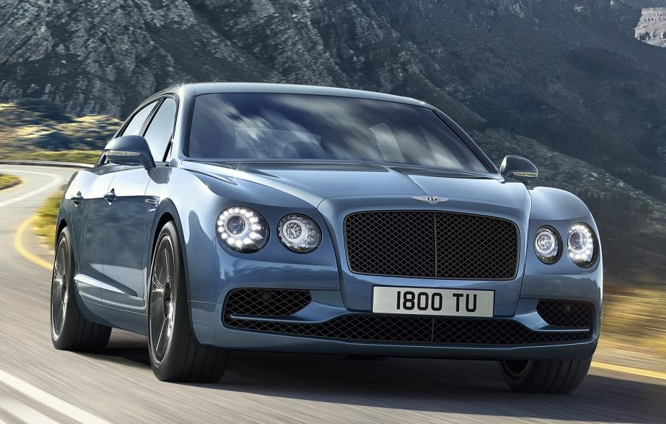 Bentley Flying Spur W12 S 0 at Official: Bentley Flying Spur W12 S