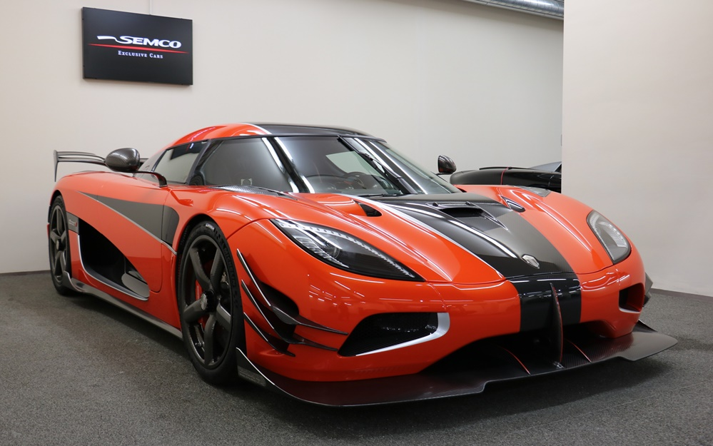 Final Koenigsegg Agera RS 0 at Spotted for Sale: Final Koenigsegg Agera RS