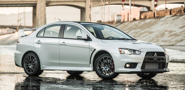 Final Mitsubishi Lancer Evo 3 600x293 at Final Mitsubishi Lancer Evo to be Auctioned for Charity
