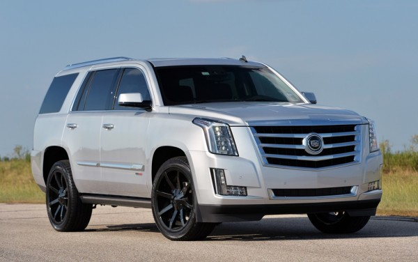 Hennessey Cadillac Escalade 600x376 at 842bhp Hennessey Cadillac Escalade in Action