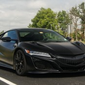 Matte Black Acura NSX 1 175x175 at Matte Black Acura NSX Sighted in Columbus