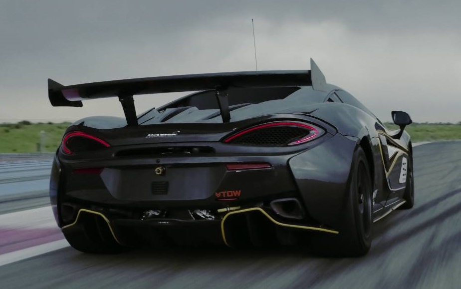 sights and sounds: mclaren 570s gt4