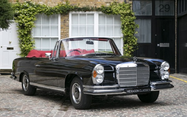 Mercedes 280 SE Cabriolet 0 600x374 at Spotted for Sale: 1970 Mercedes 280 SE Cabriolet