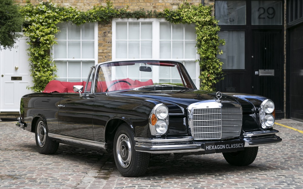 Spotted For Sale 1970 Mercedes 280 Se Cabriolet