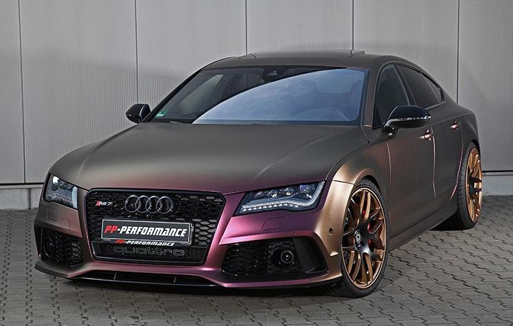 Insane PP-Performance Audi RS7 Packs 745 hp!