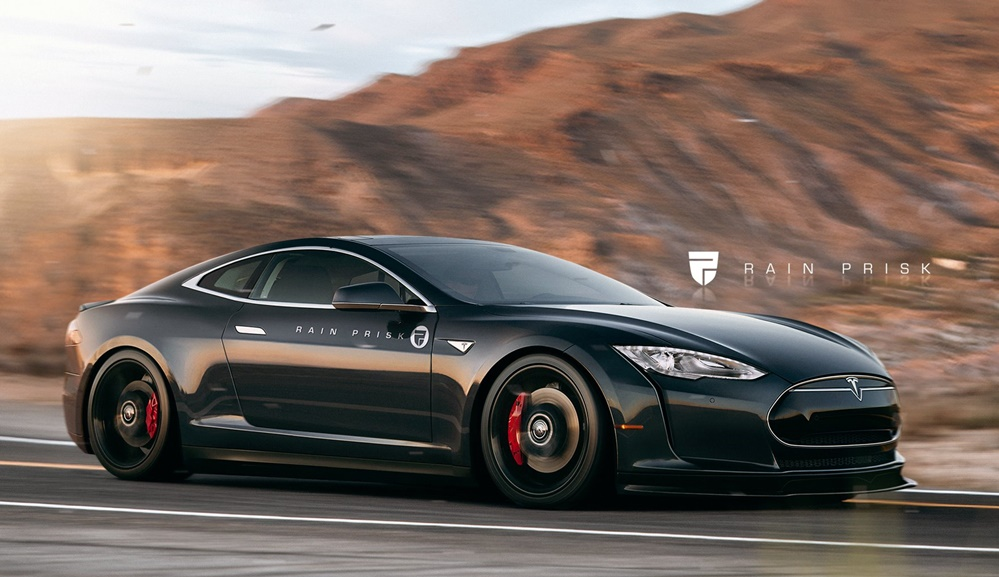 Tesla Model S Coupe at Build It Now: Tesla Model S Coupe