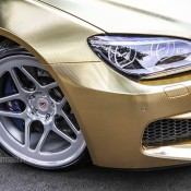 Textured Gold BMW M6 1 175x175 at Textured Gold BMW M6 on Vossen Wheels