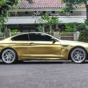 Textured Gold BMW M6 6 175x175 at Textured Gold BMW M6 on Vossen Wheels