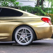 Textured Gold BMW M6 8 175x175 at Textured Gold BMW M6 on Vossen Wheels