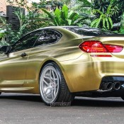 Textured Gold BMW M6 9 175x175 at Textured Gold BMW M6 on Vossen Wheels