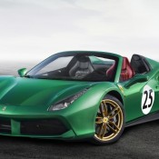 ferrari 488 spider the green jewel 175x175 at Ferrari Marks its 70th Anniversary with Special Liveries