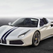 ferrari 488 spider the white spider 175x175 at Ferrari Marks its 70th Anniversary with Special Liveries