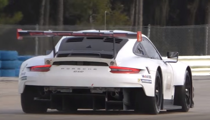 New Porsche 911 RSR Caught Testing At Sebring