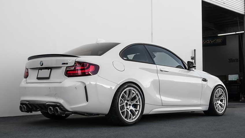 Tricked Out Alpine White Bmw M2 By Eas