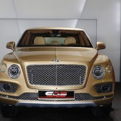 Bentley Bentayga Gold 1 175x175 at Gallery: Bentley Bentayga Looks Dapper in Gold