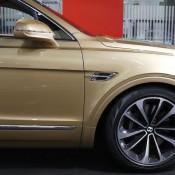Bentley Bentayga Gold 10 175x175 at Gallery: Bentley Bentayga Looks Dapper in Gold