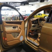 Bentley Bentayga Gold 11 175x175 at Gallery: Bentley Bentayga Looks Dapper in Gold