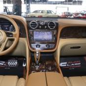Bentley Bentayga Gold 14 175x175 at Gallery: Bentley Bentayga Looks Dapper in Gold