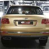 Bentley Bentayga Gold 5 175x175 at Gallery: Bentley Bentayga Looks Dapper in Gold