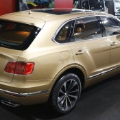 Bentley Bentayga Gold 7 175x175 at Gallery: Bentley Bentayga Looks Dapper in Gold