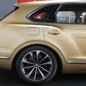 Bentley Bentayga Gold 9 175x175 at Gallery: Bentley Bentayga Looks Dapper in Gold