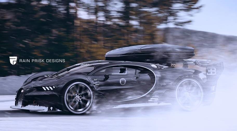 Jon Olsson S Next Toy Bugatti Vision Ski Car