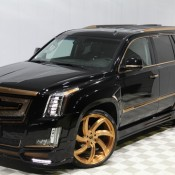Calwing Cadillac Escalade Gold 1 175x175 at Calwing Cadillac Escalade Goes Black & Gold