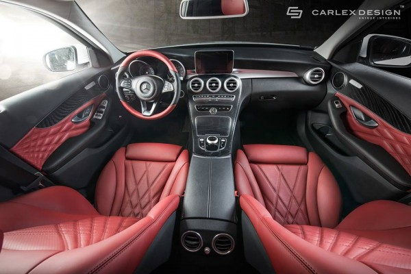 Carlex Mercedes C Class 2 600x400 at Mercedes C Class Interior Package by Carlex