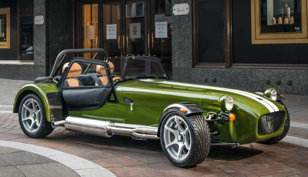 Caterham Seven Harrods 0 600x345 at Caterham Seven Harrods Launches Firm's Personalization Program