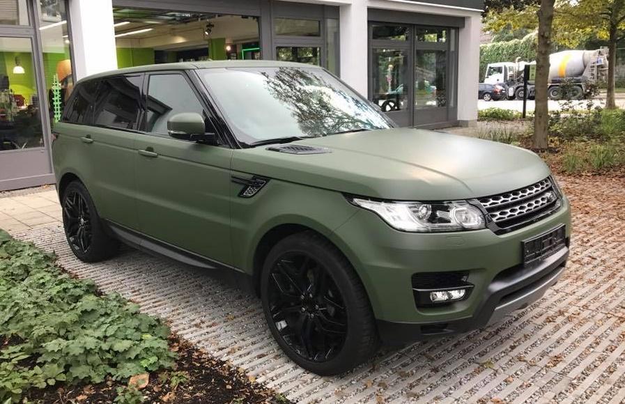 NATO Olive Range Rover Sport by Print Tech