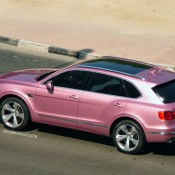 Pink Bentley Bentayga 3 175x175 at Pink Bentley Bentayga Spotted in the Wild