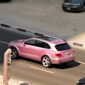 Pink Bentley Bentayga 4 175x175 at Pink Bentley Bentayga Spotted in the Wild
