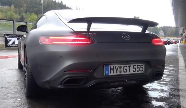 RENNtech Mercedes AMG GT S 600x347 at RENNtech Mercedes AMG GT S Filmed at Spa