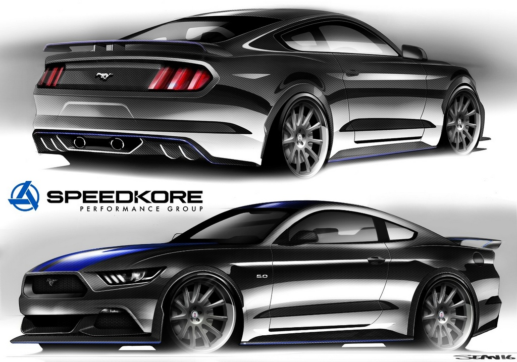 SEMA Preview: Custom Ford Mustang