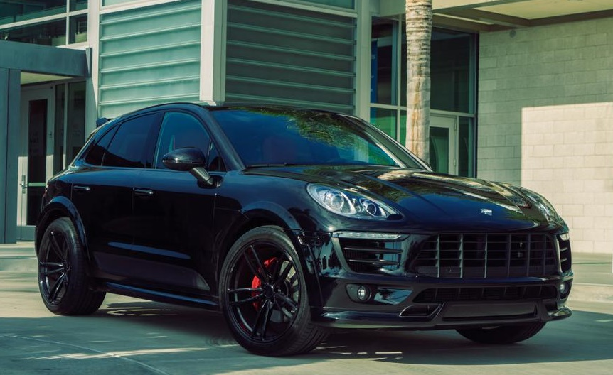 Blacked,Out Techart Porsche Macan by TAG