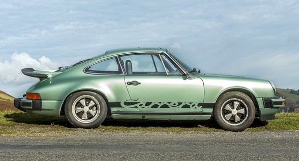 1975 Porsche 911 Carrera MFI 2 600x324 at 1975 Porsche 911 Carrera 2.7 MFI Set for Auction