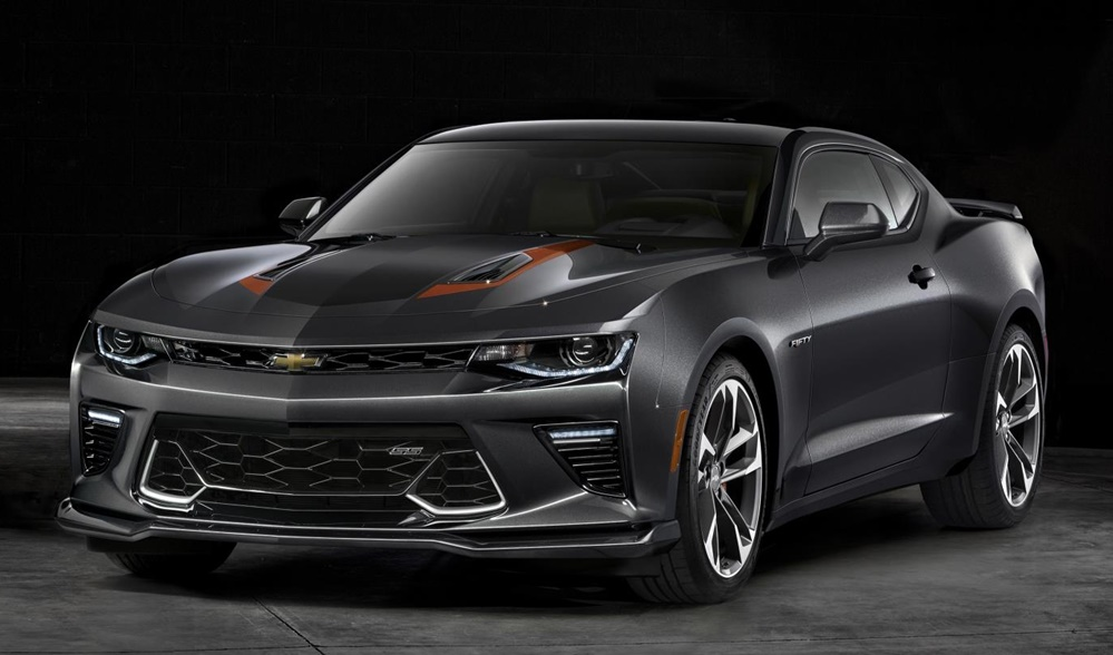 2017 Chevrolet Camaro 50thAnniv 0081 at Special Edition Camaro Awarded to 2016 World Series MVP