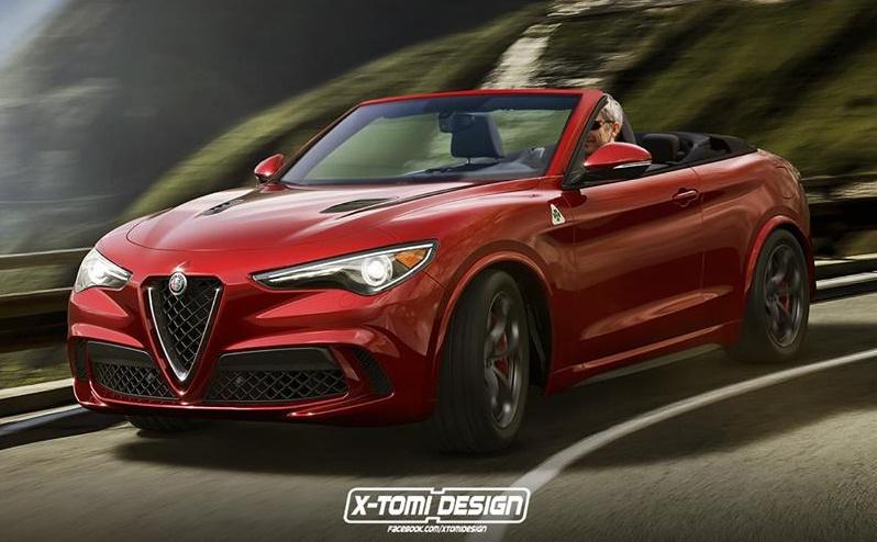 Alfa Romeo Stelvio Spider at Alfa Romeo Stelvio Spider – Because Why Not?
