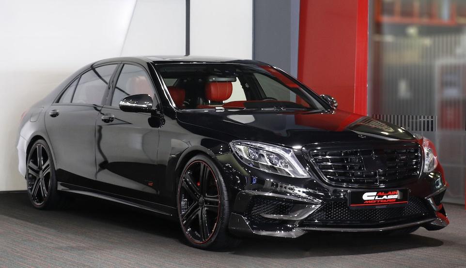 Black Knight Brabus Mercedes S63 850