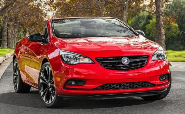 Buick Cascada Sport Red 0 600x370 at Official: 2017 Buick Cascada Sport Red