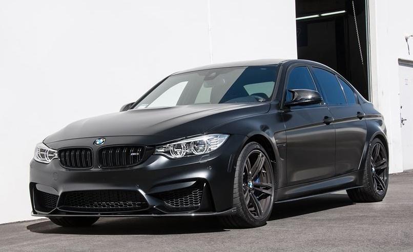 Custom Frozen Black BMW M3 by EAS